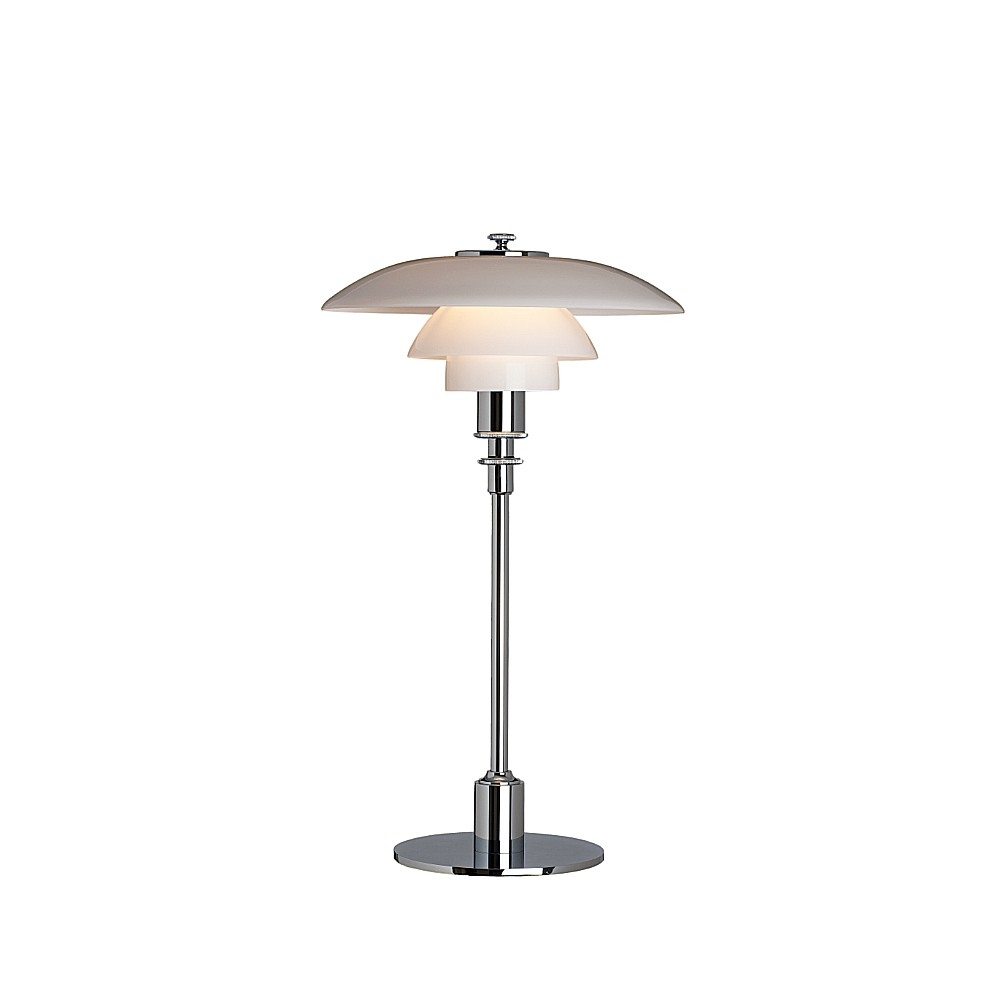 Bild av PH 2/1 bordslampa - krom