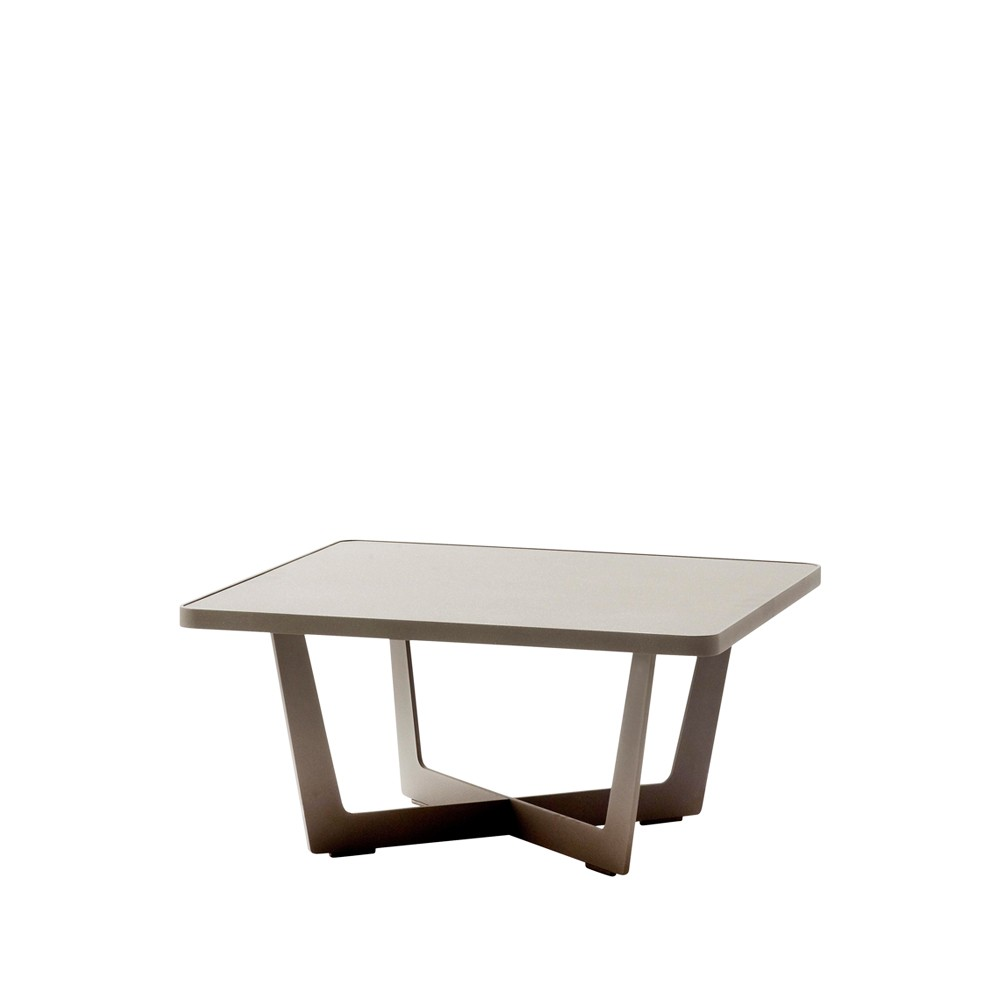 Time out soffbord – taupe höjd 35 cm