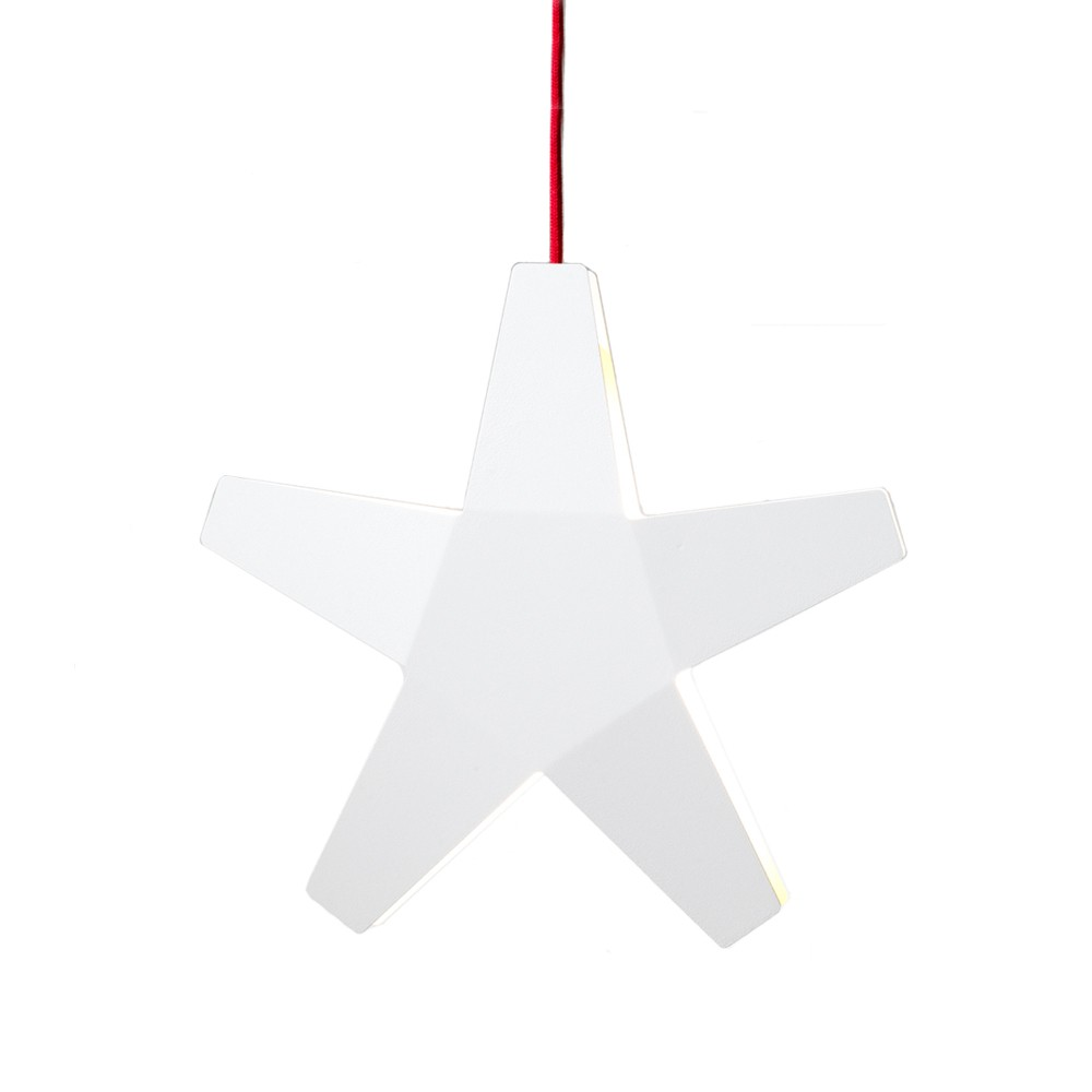 Advent star adventsstjärna – vit ø40 cm