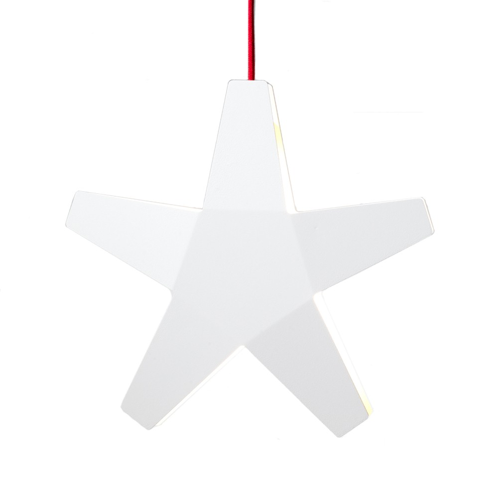 Advent star adventsstjärna – vit ø60 cm