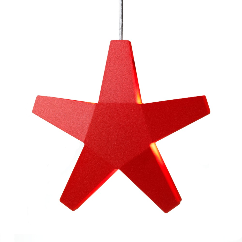 Advent star adventsstjärna – röd ø60 cm