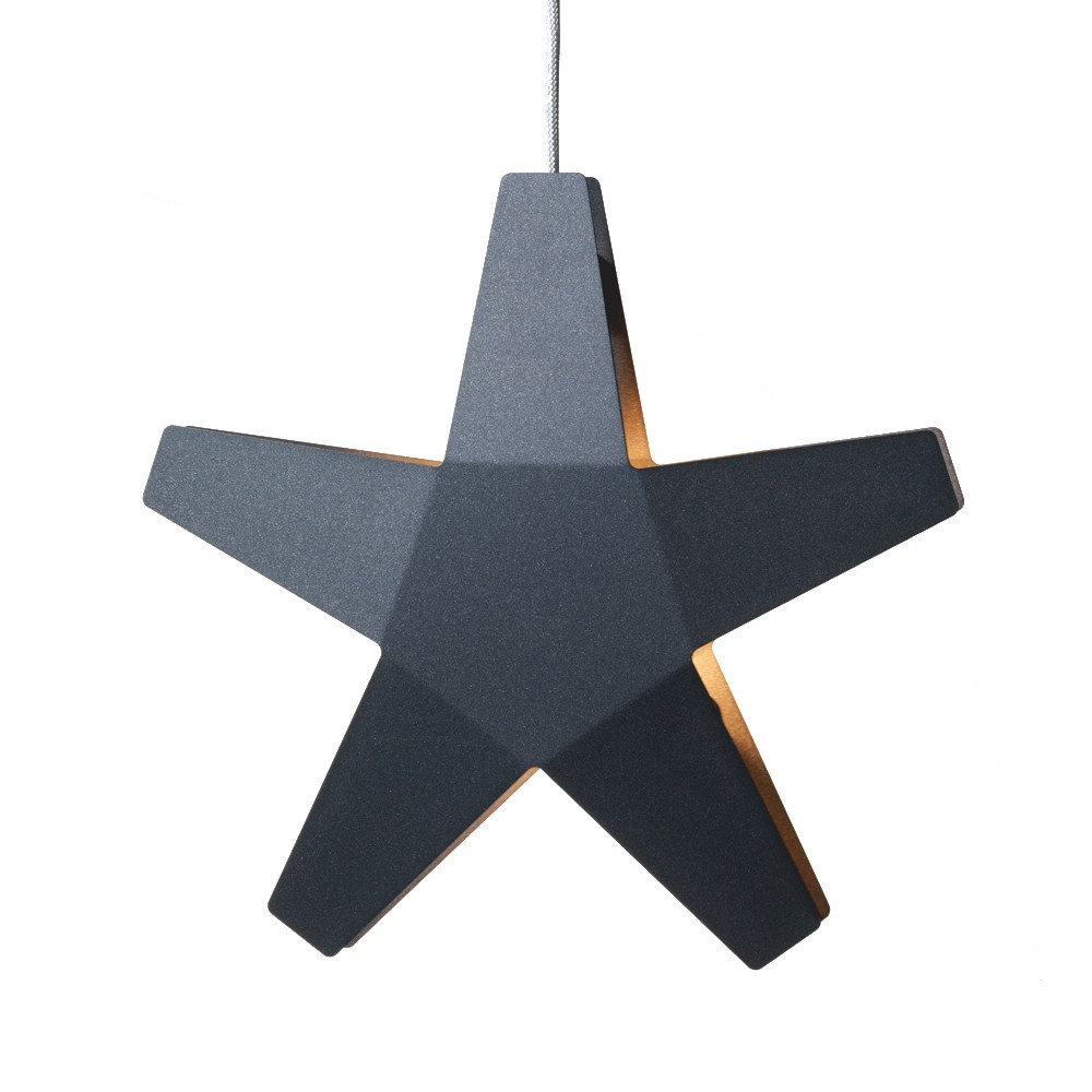 Advent star adventsstjärna – grå ø60 cm
