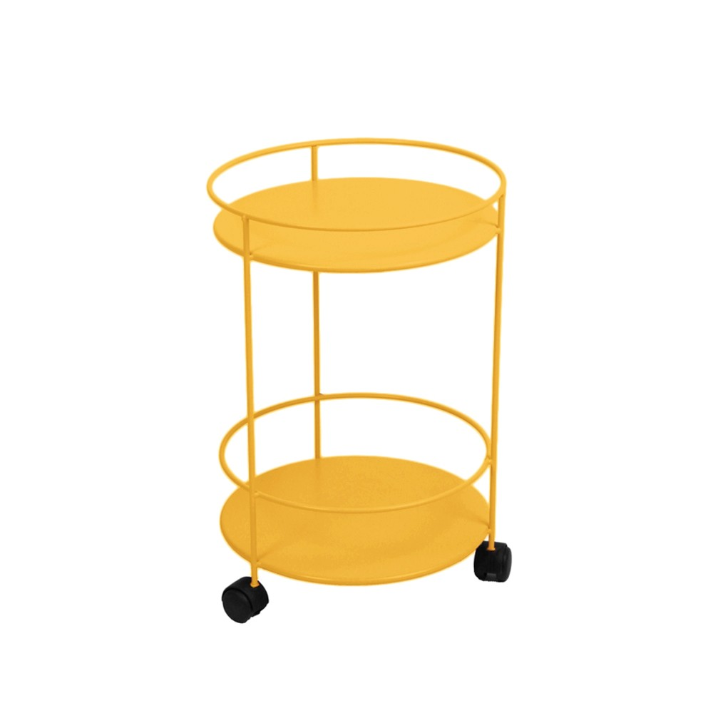 Small table med hjul – honey