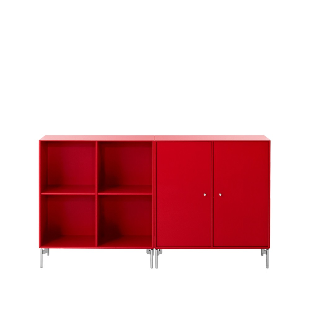 Montana sideboard – china red