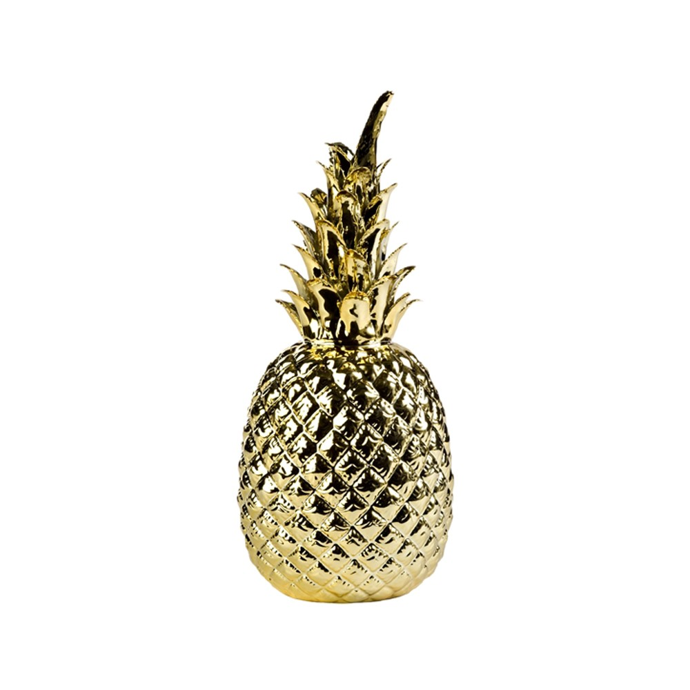 Pineapple Dekoration Guld Dekoration Svenssons I