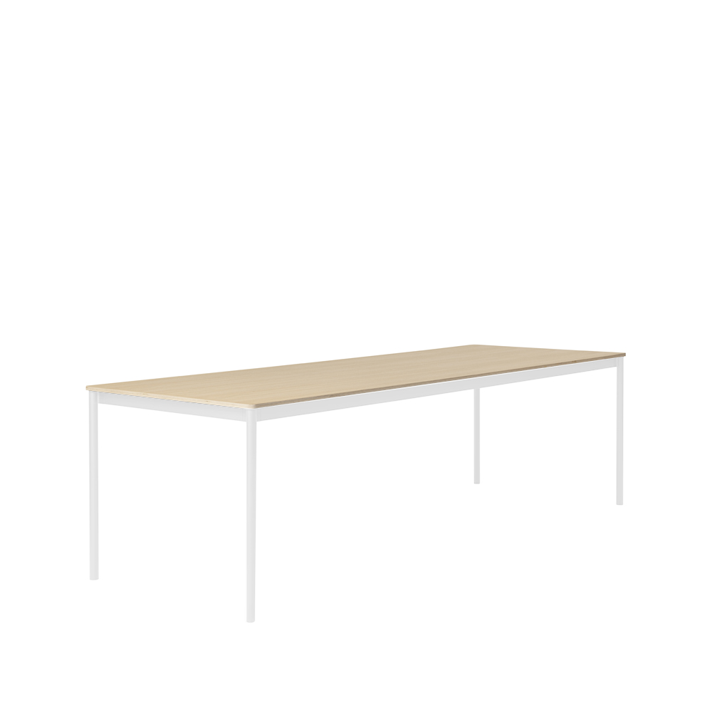 Bild av Base matbord - oak, white, 250 cm