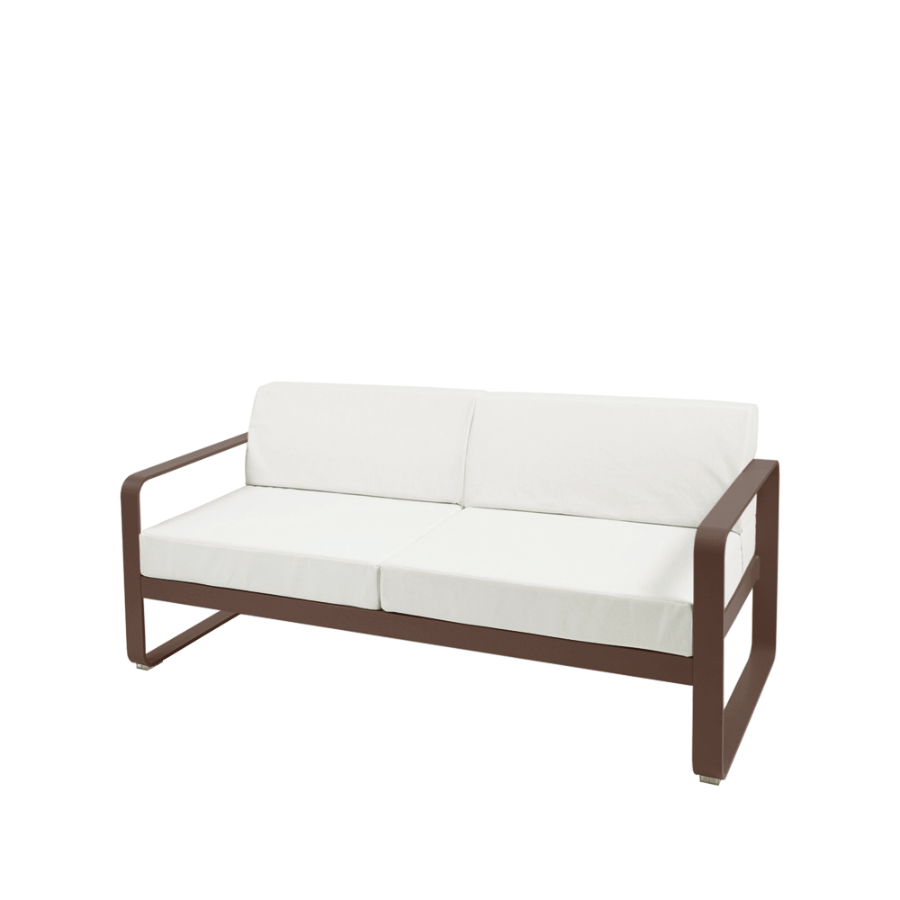 Bild av Bellevie soffa - russet, off-white dyna