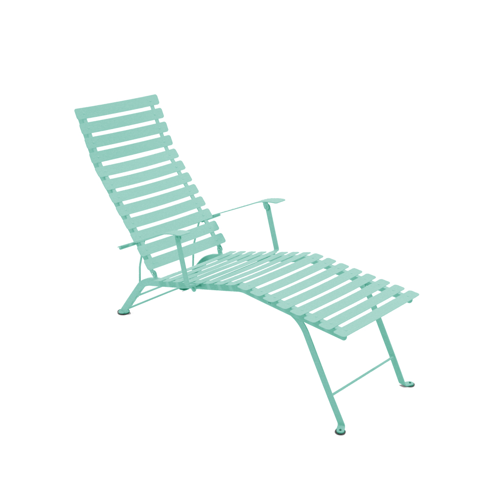 Bistro chaise lounge – lagoon blue
