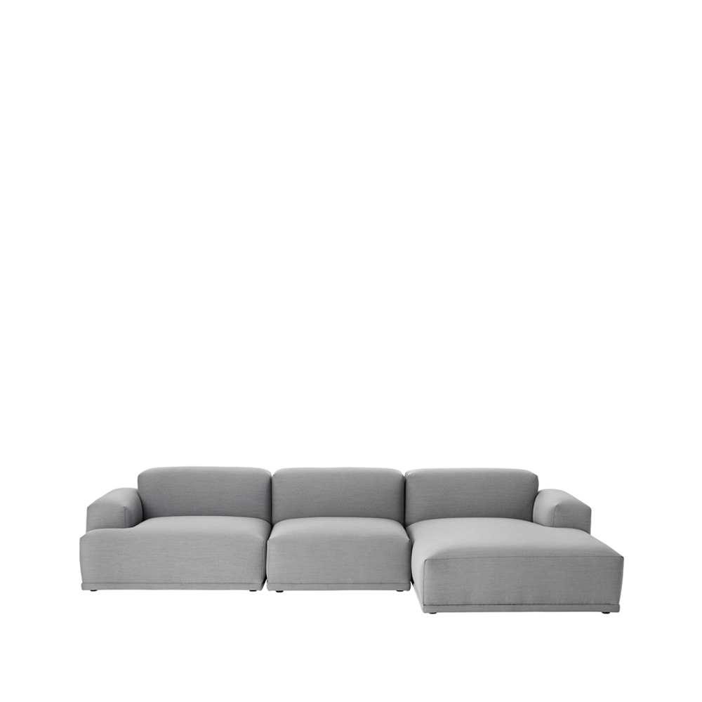 Connect modulsoffa – divan grey