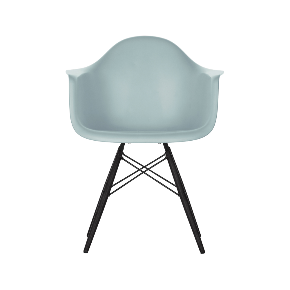 eames plastic armchair daw stol svartbetsade ben ice. Black Bedroom Furniture Sets. Home Design Ideas