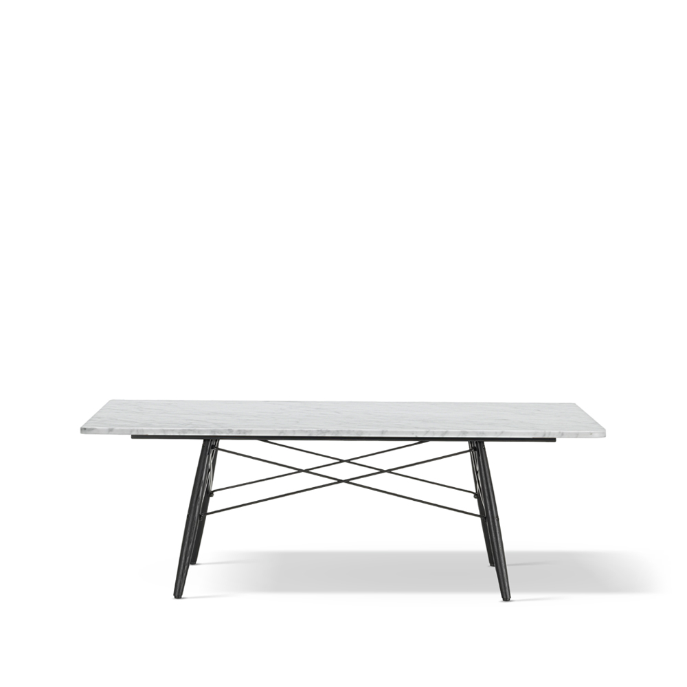 Eames Coffee Table soffbord – 114 cm vit marmor