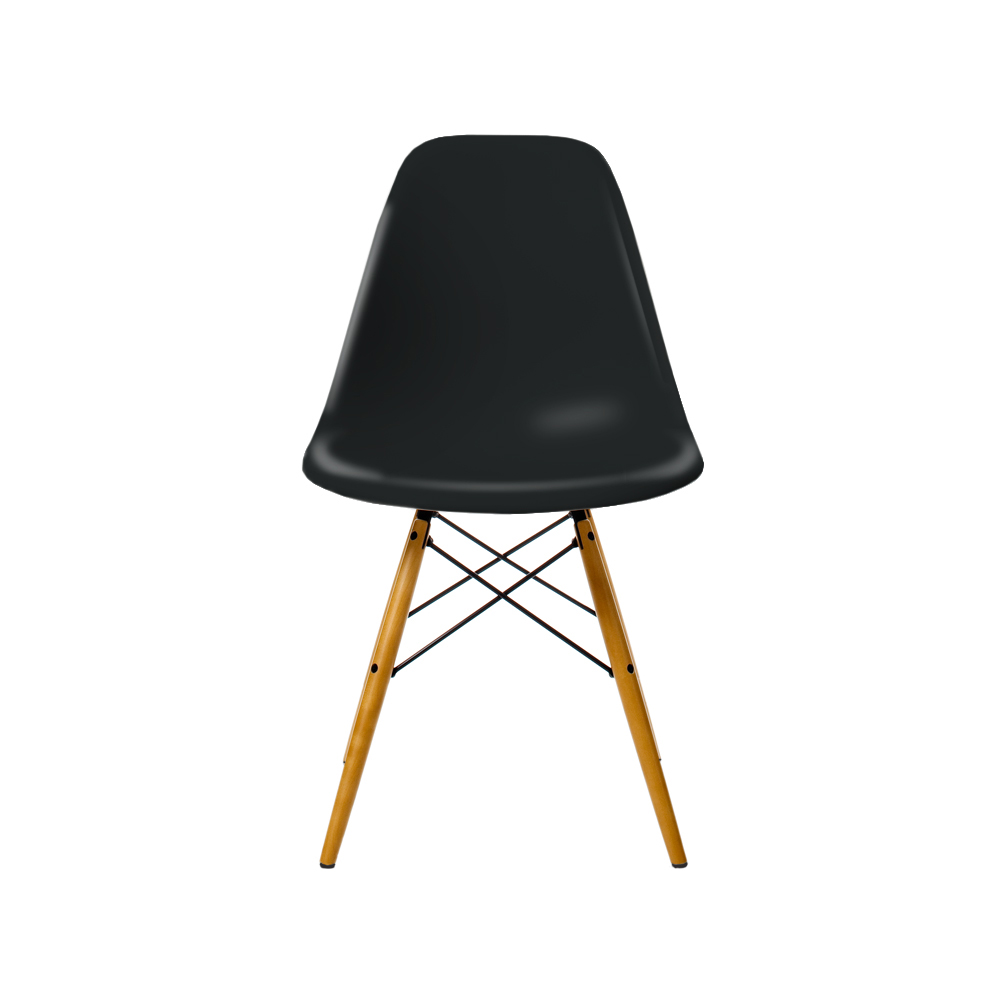 eames plastic side chair dsw stol l nnben basic dark stolar svenssons i lammhult. Black Bedroom Furniture Sets. Home Design Ideas
