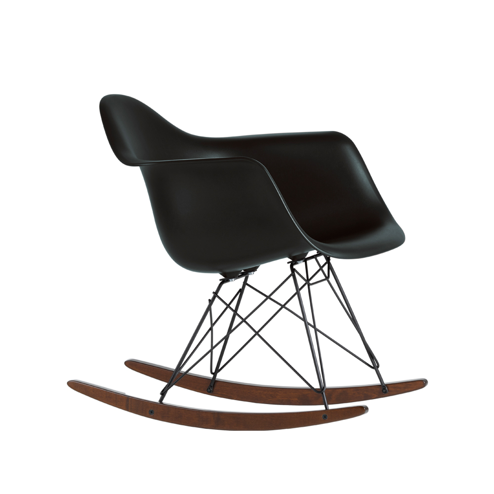 Eames Plastic Armchair RAR gungstol – basic dark winter edition