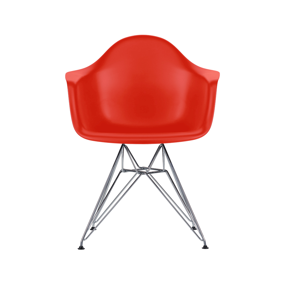eames plastic armchair dar stol kromade ben classic red stolar svenssons i lammhult. Black Bedroom Furniture Sets. Home Design Ideas