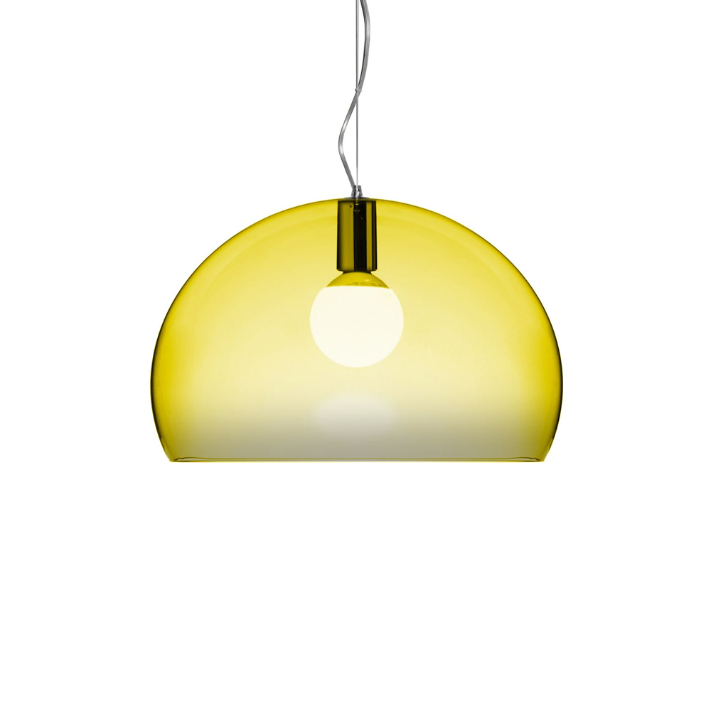 Bild av Fl/y pendel - transparent yellow