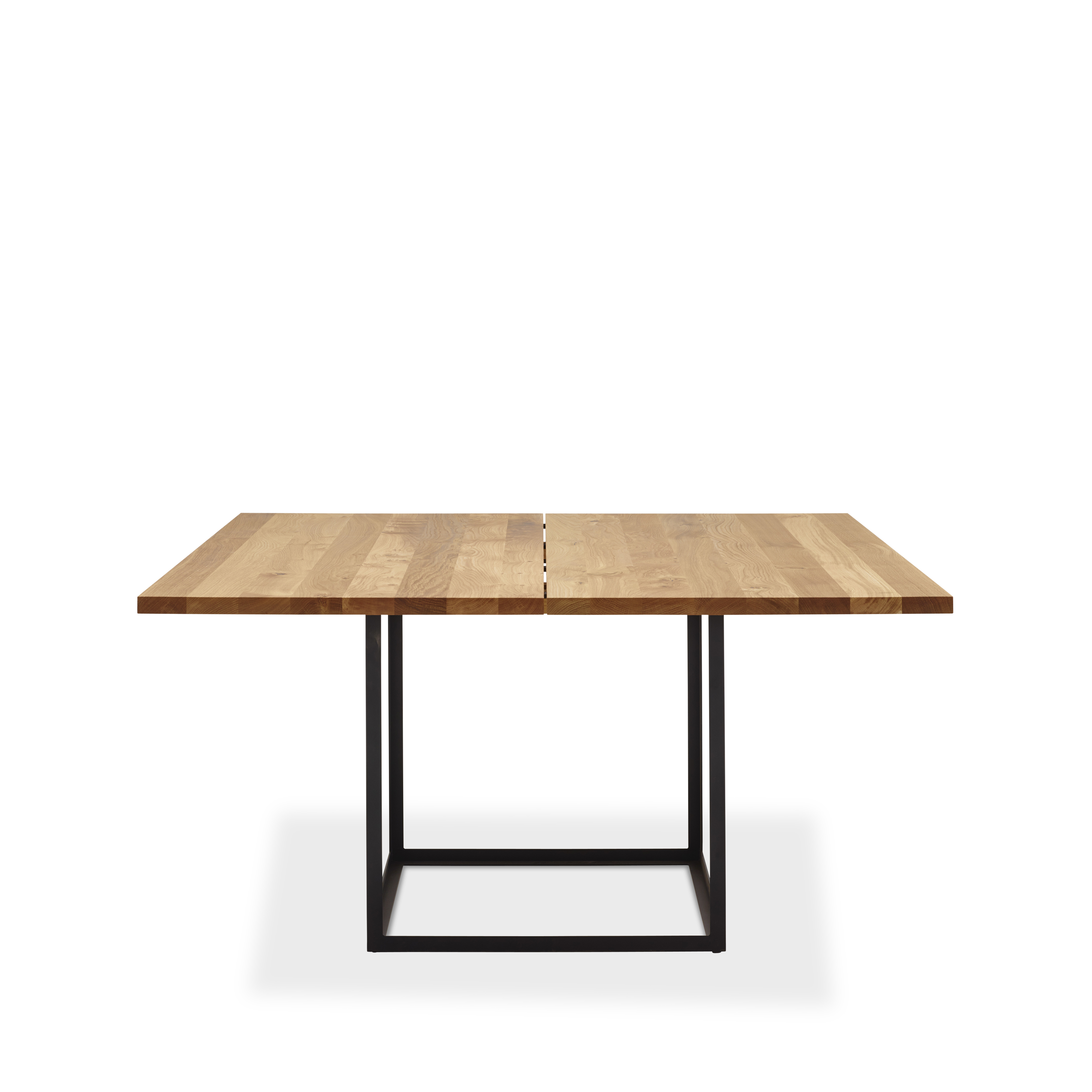Bild av Jewel Table matbord - oljad ek, svart, 160x160 cm