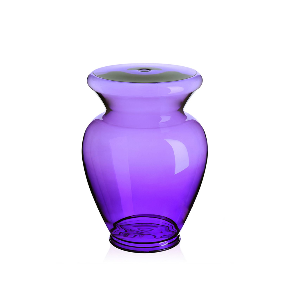 Bild av La Boheme pall - transparent purple