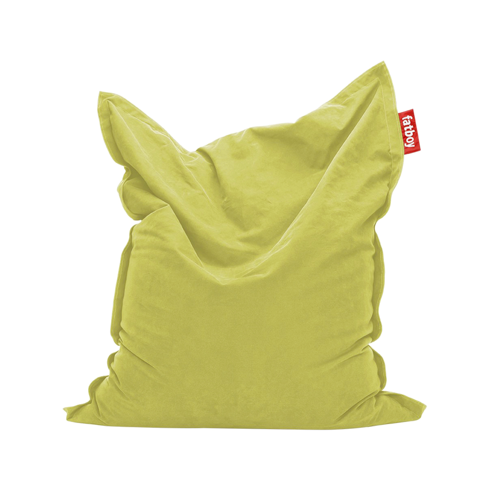 Fatboy Original Stonewashed sittsäck – lime green