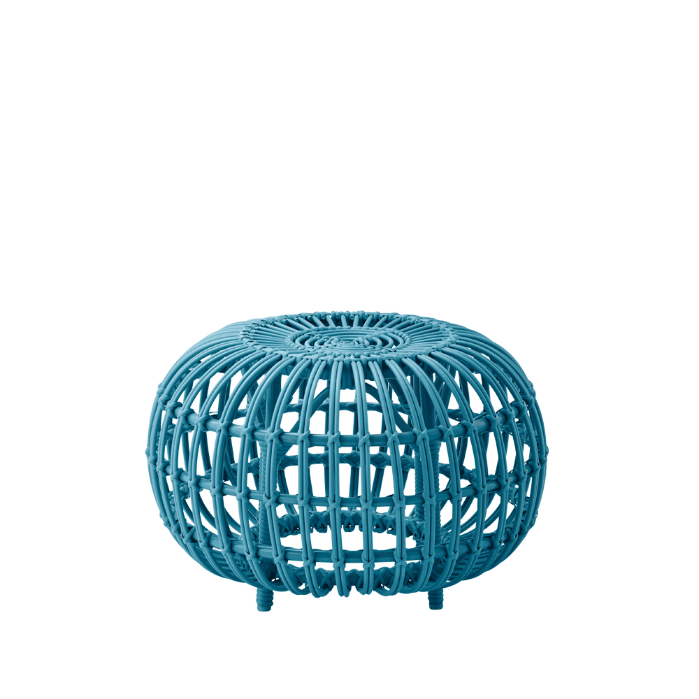 Ottoman Exterior pall – blue small