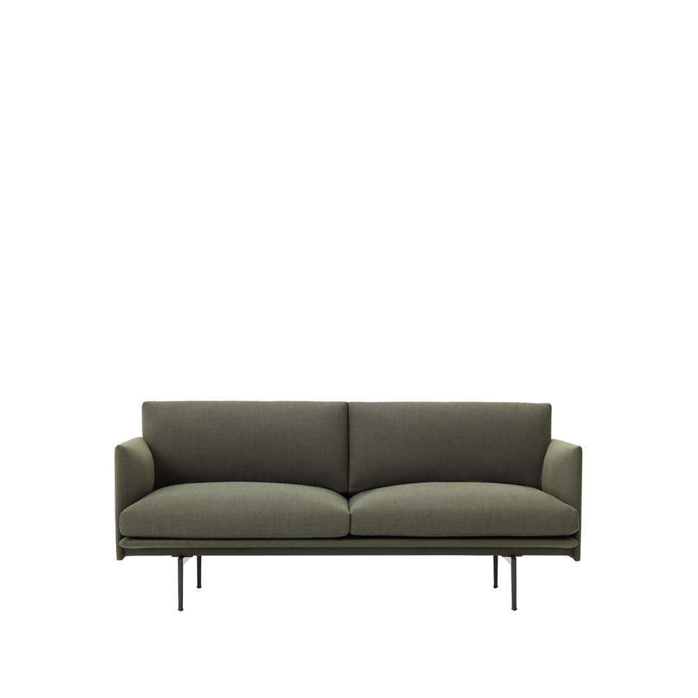 Outline soffa – 2-sits green