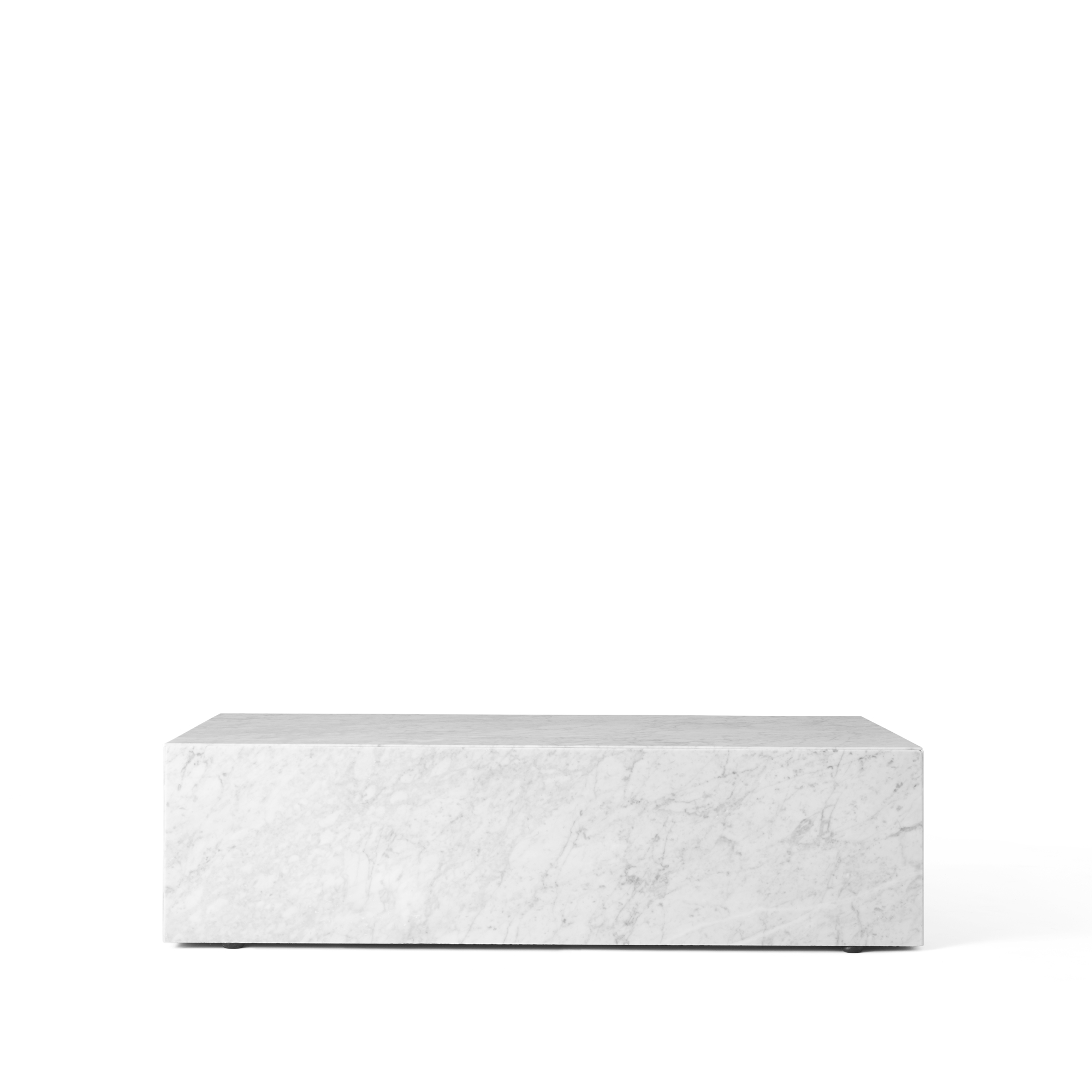 Bild av Plinth soffbord - white, low
