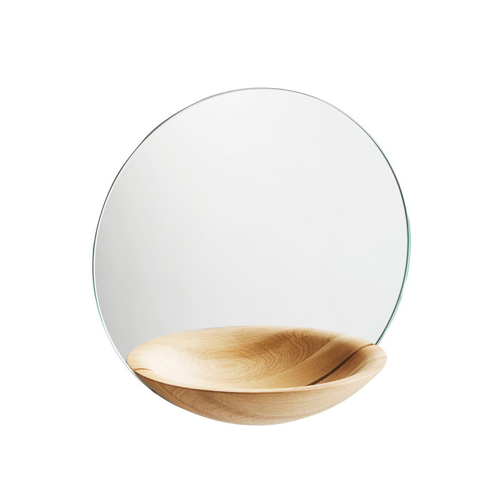 Bild av Pocket Mirror spegel - oak, large